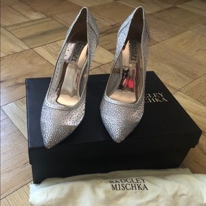 Badgley meshka wedding shoes
